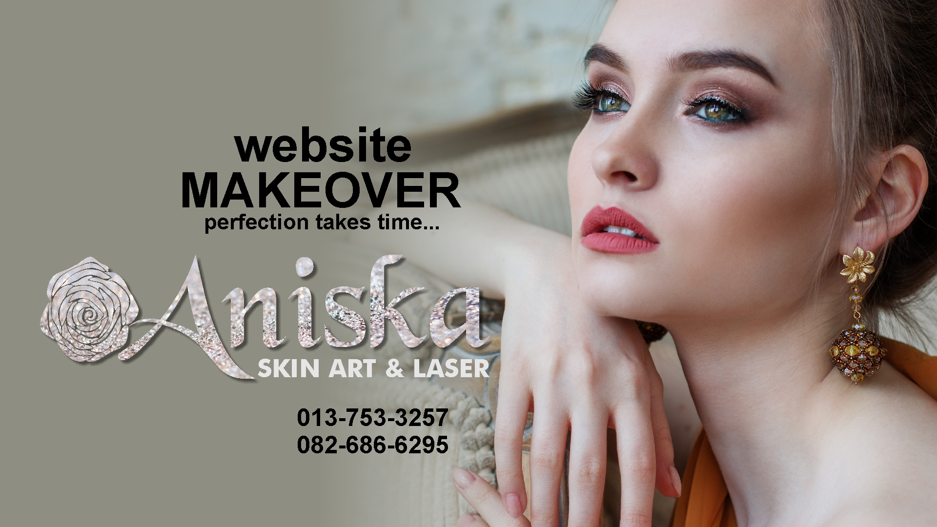 aniska website makeover